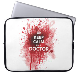 Funny 'Keep Calm, I'm a Doctor' Computer Case Computer Sleeve
