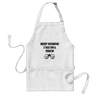 Funny Keep Staring T-shirts Gifts Standard Apron