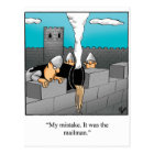 Funny Keeping In Touch Humour Postcard