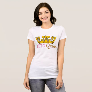 Funny Keto Queen Crown T-Shirt