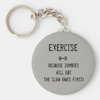 Funny key chain for real fitness lovers!