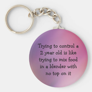 Funny Keychain About Kids