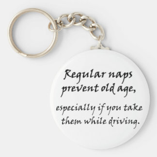 Funny keychains over the hill old age humor