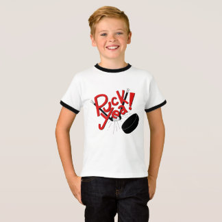 Funny Kids Hockey Shirt