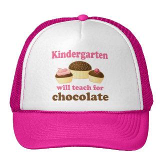 Funny Kindergarten Teacher Cap Mesh Hats