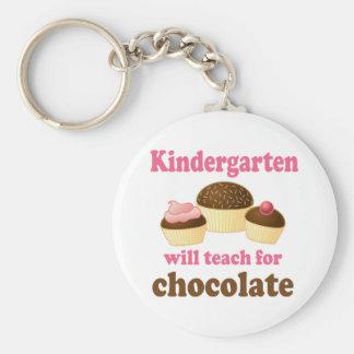 Funny Kindergarten Teacher Keychain
