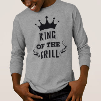 Funny King of the Grill Sleeve Shirt