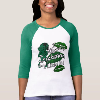 Funny Kissed Irishman St Patrick's T-Shirt