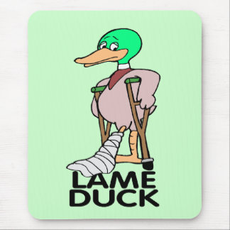 Funny Lame Duck T-shirts Gifts Mouse Mat