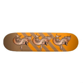 Funny Laughing Fish Custom Skate Board