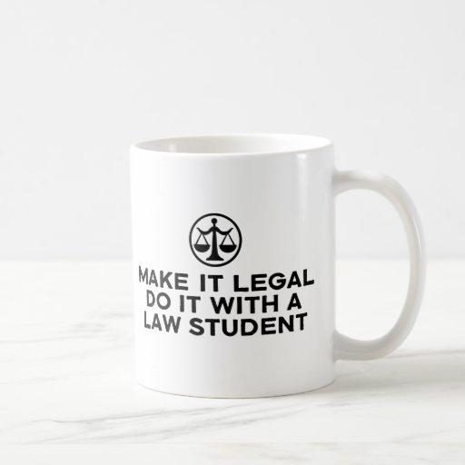 Funny Law Student Mug