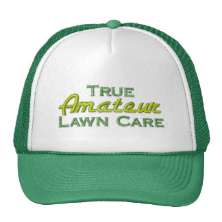 Funny Lawn Mowing Cap