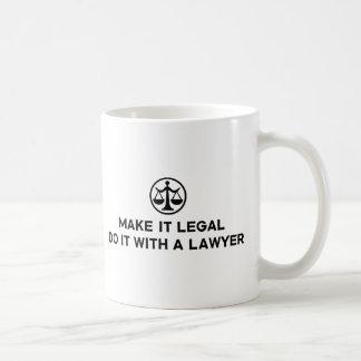 Funny Lawyer Basic White Mug