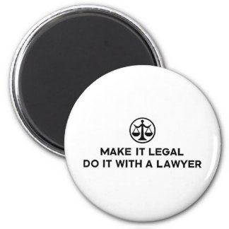 Funny Lawyer Refrigerator Magnets