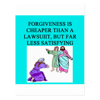 funny lawyer proverb postcard