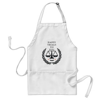 Funny Lawyer Standard Apron
