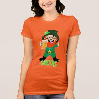 Funny Leprechaun Irish Theme St Patrick's Novelty T-Shirt