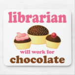 Funny Librarian Mousepad