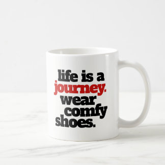 Funny Life is a Journey ... Coffee Mug
