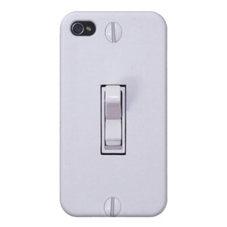 Funny Light Switch 4s iPhone 4 Case