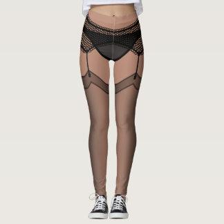 Funny Lingerie Leggings Stockings Costume Pants