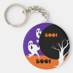 Funny little ghosts Halloween Gift Keychains