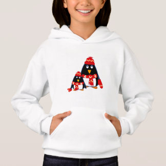 Funny Little Penguins Christmas Hoodie