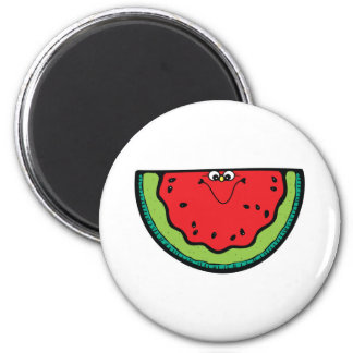 funny little watermelon magnet