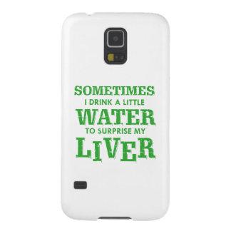 Funny Liver designs Galaxy S5 Cover