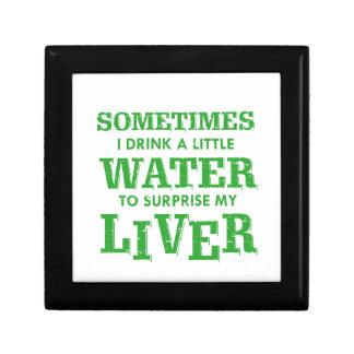 Funny Liver designs Gift Box