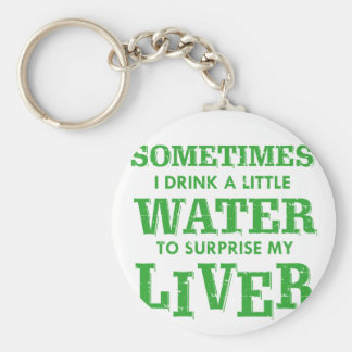 Funny Liver designs Key Ring
