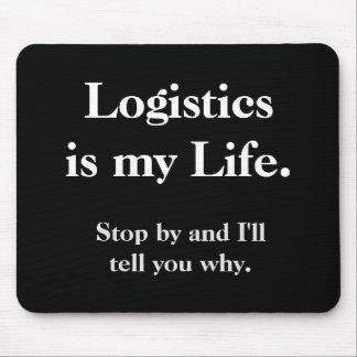 Funny Logistics Quote Cruel Joke Slogan Mouse Pad