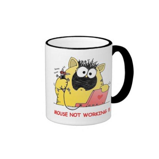 Funny LOL Cat and Mouse Mug