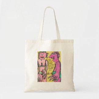 Funny Lookin' Lulu-Belle Canvas Bag