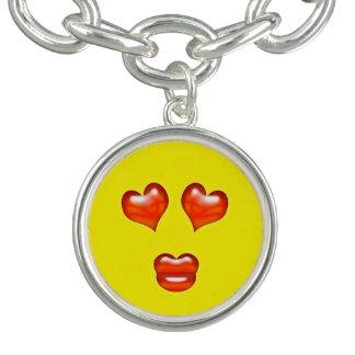 Funny Love Kiss Emoji Smiley