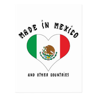 Funny Made In Mexico Postcard
