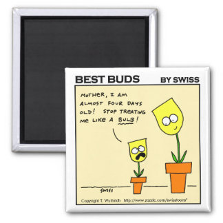 Funny Magnet For Parents And Gardeners