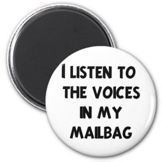 Funny Mail Carrier T-shirts and Gifts 6 Cm Round Magnet
