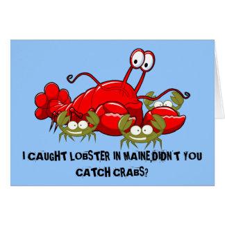 Funny Maine Card