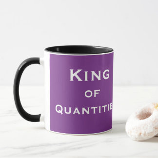 Funny Male Quantity Surveyor QS Nickname Joke Mug