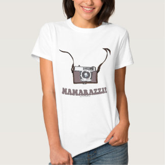 Funny Mamarazzi Photographer Shirts