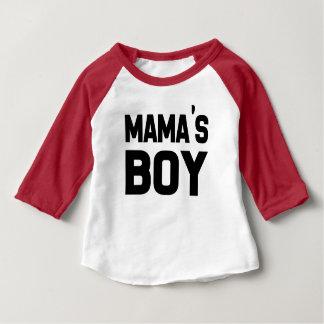 Funny Mama's Boy, baby boy shirt