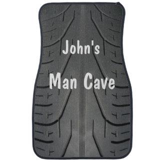 Funny Man Cave Tire Tread Car Mats