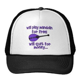 funny mandolin cap