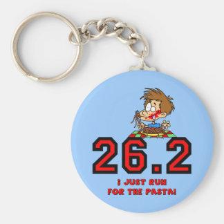 Funny marathon key chain