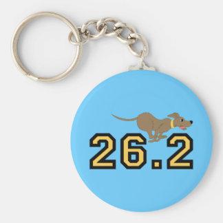Funny marathon key chains