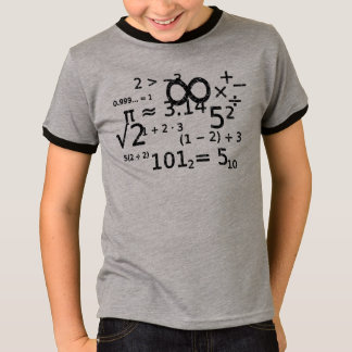 funny math algebra wiz cool t-shirt design