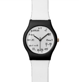 Funny Math Equation Geek Watch