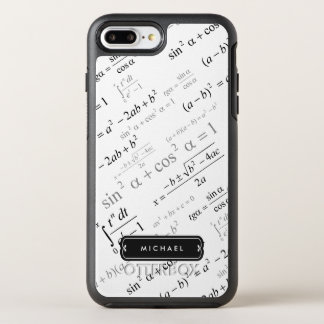 Funny Math Formula for Dad Teacher Student OtterBox Symmetry iPhone 8 Plus/7 Plus Case