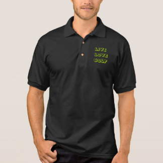 Funny May the Course be with you Golf Golfing Polo Shirt
